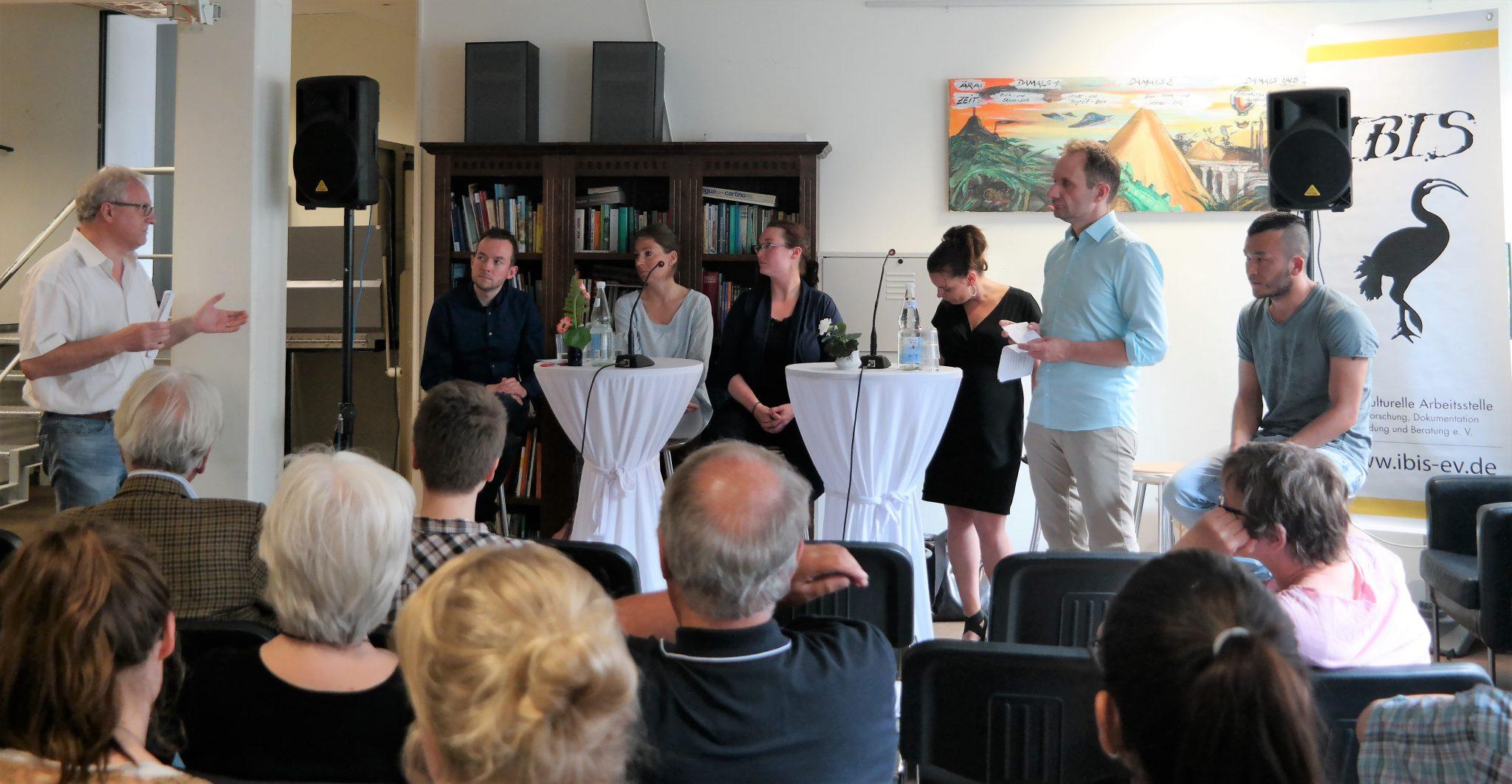 """Rückblick Fishbowl- Diskussion """"Ehrenamt Als Teil Der Willkommenskultur"""" – Lob, Anregungen Und Kritik Zur Ehrenamtsarbeit"""