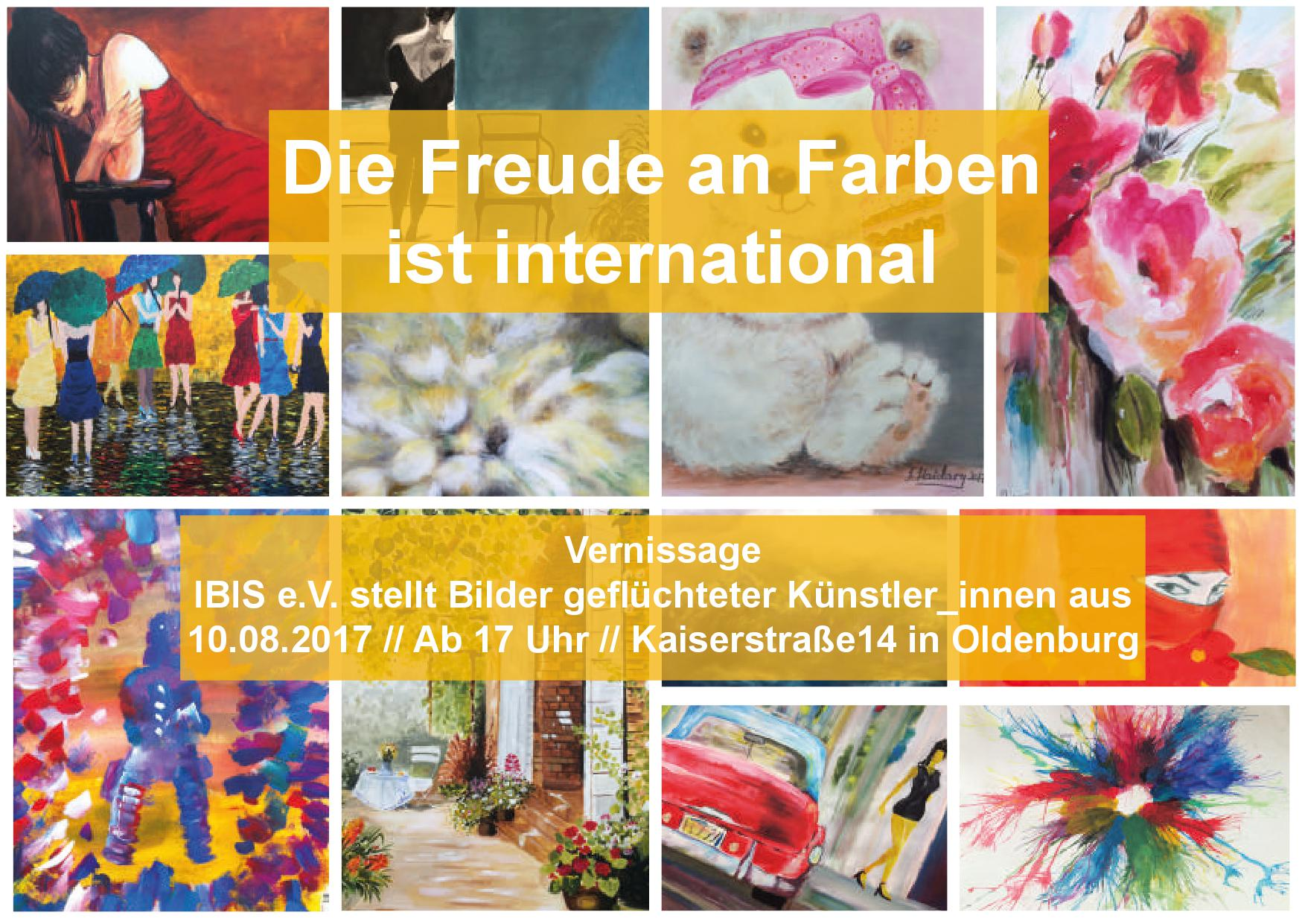 Vernissage Bei IBIS E.V.
