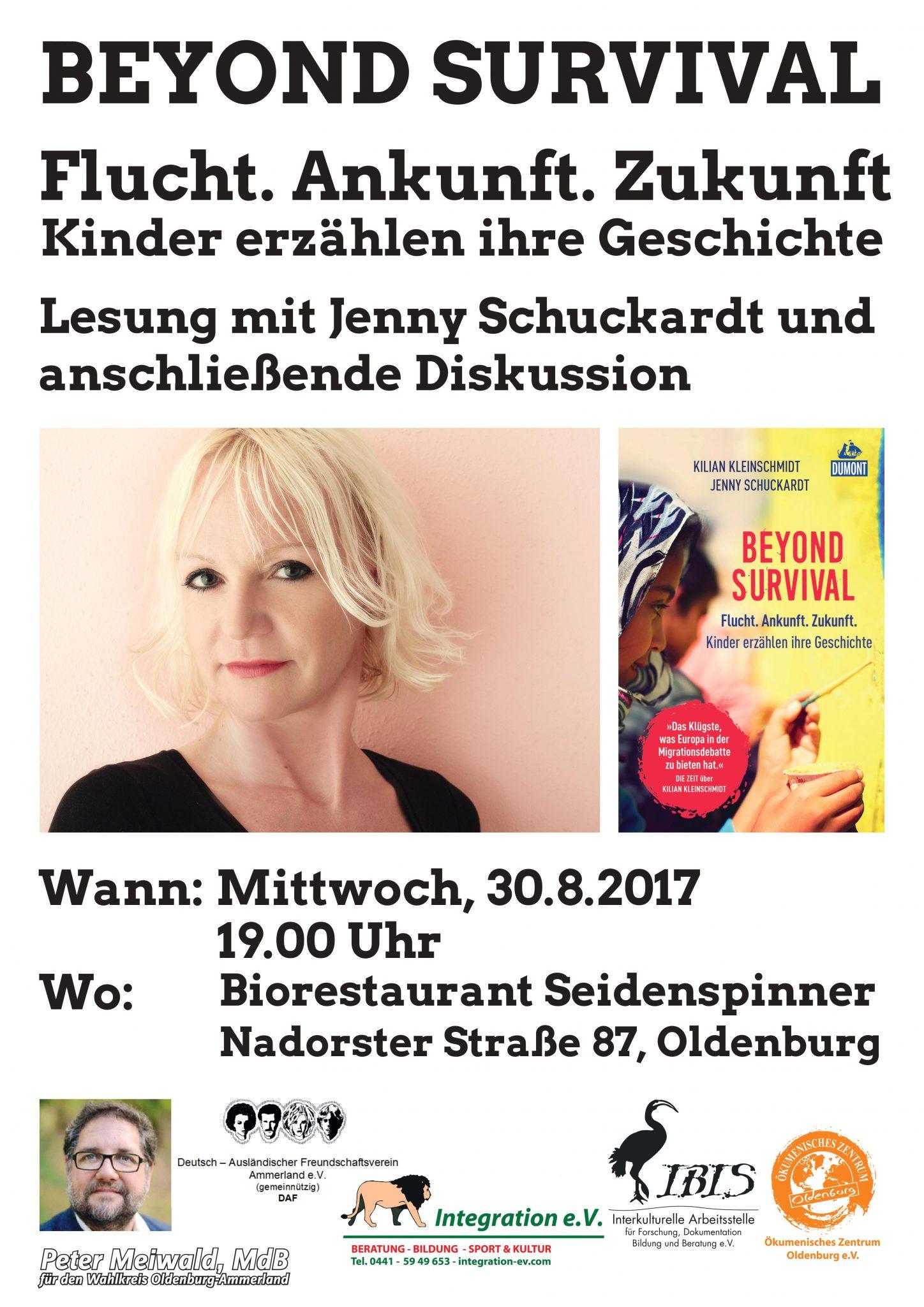 Lesung Jenny Schuckardt