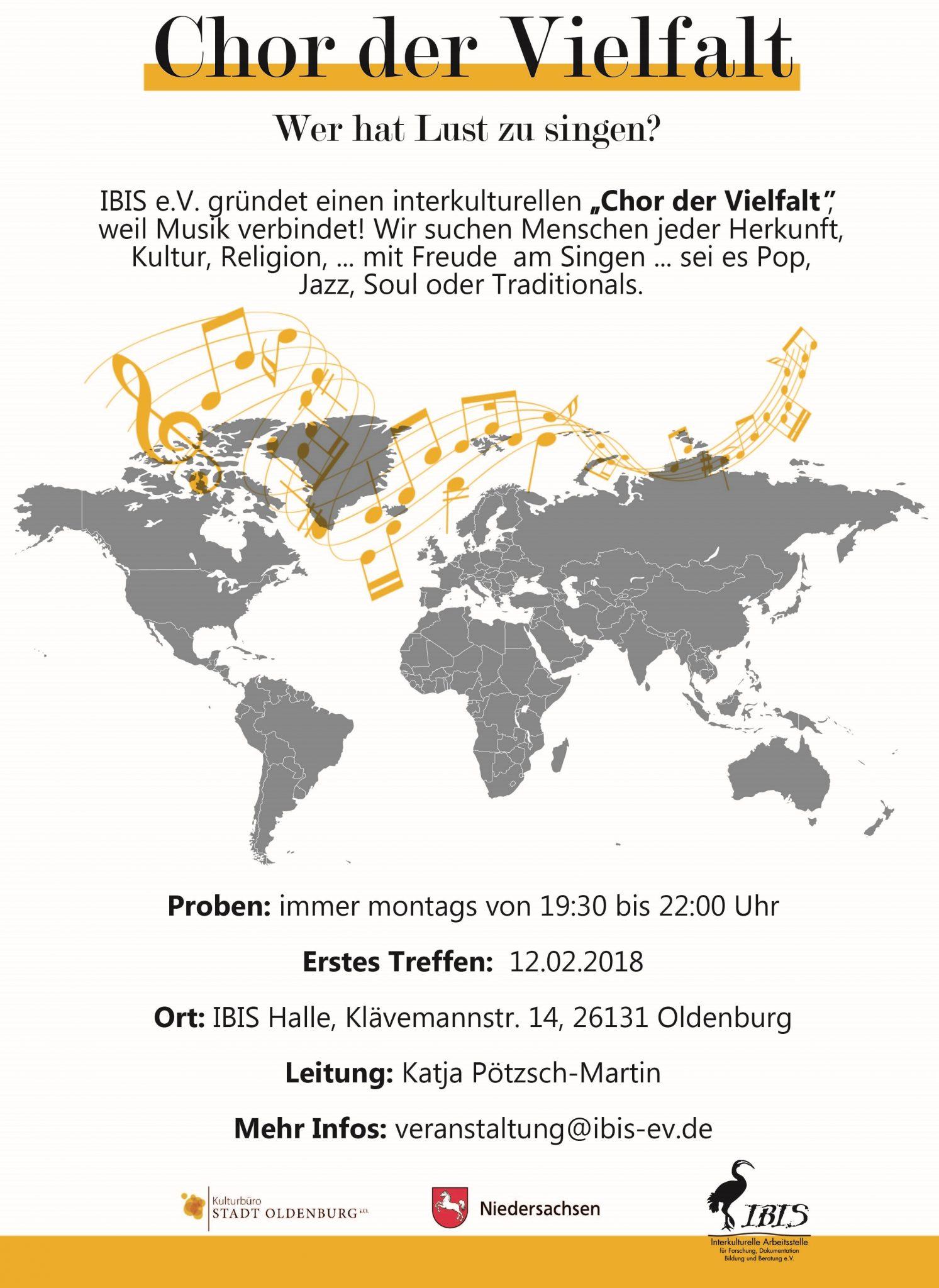 """IBIS E.V. Gründet Einen """"Chor Der Vielfalt"""""""