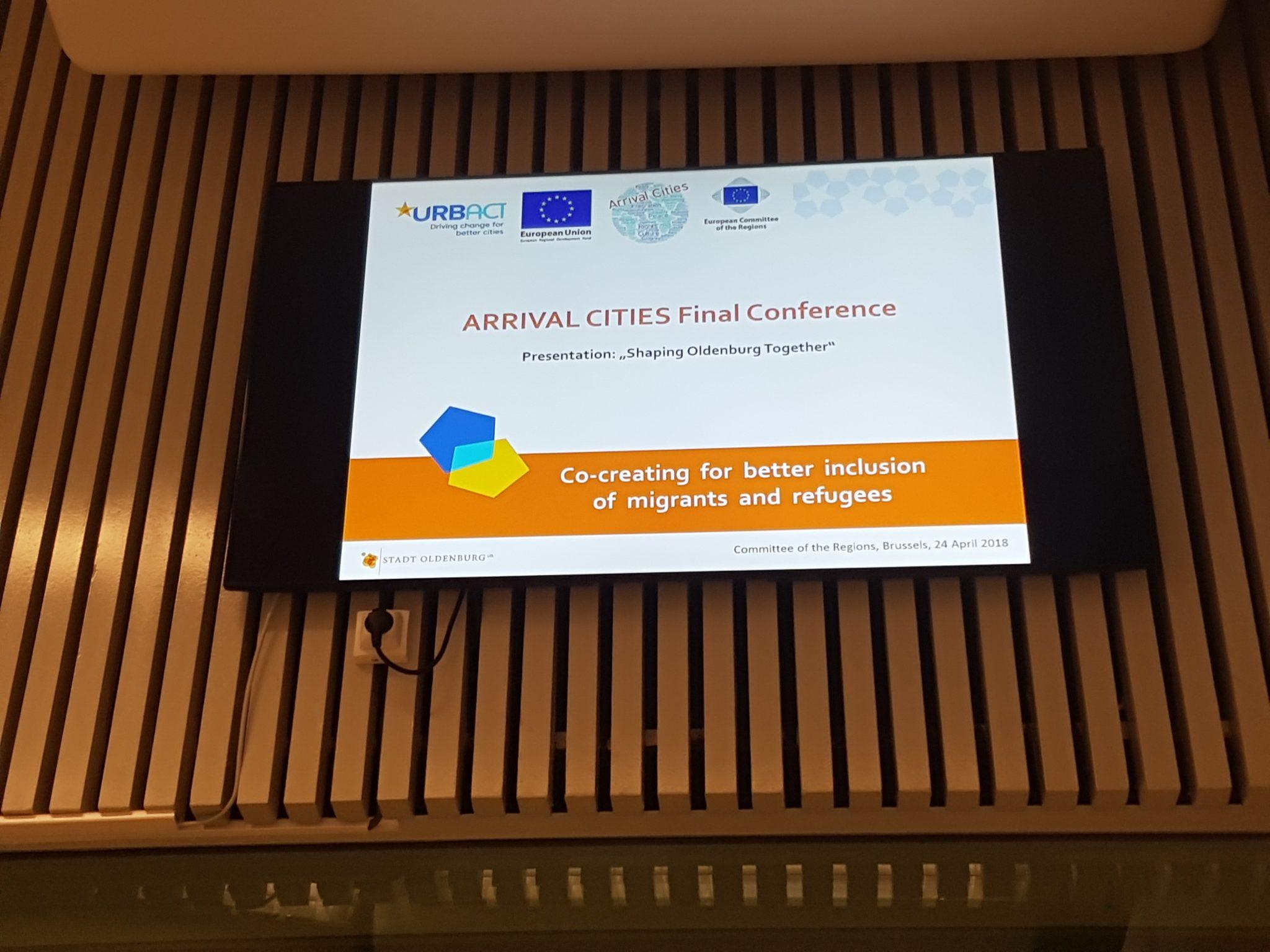 """""""Arrival Cities"""" –  Abschlusskonferenz In Brüssel"""