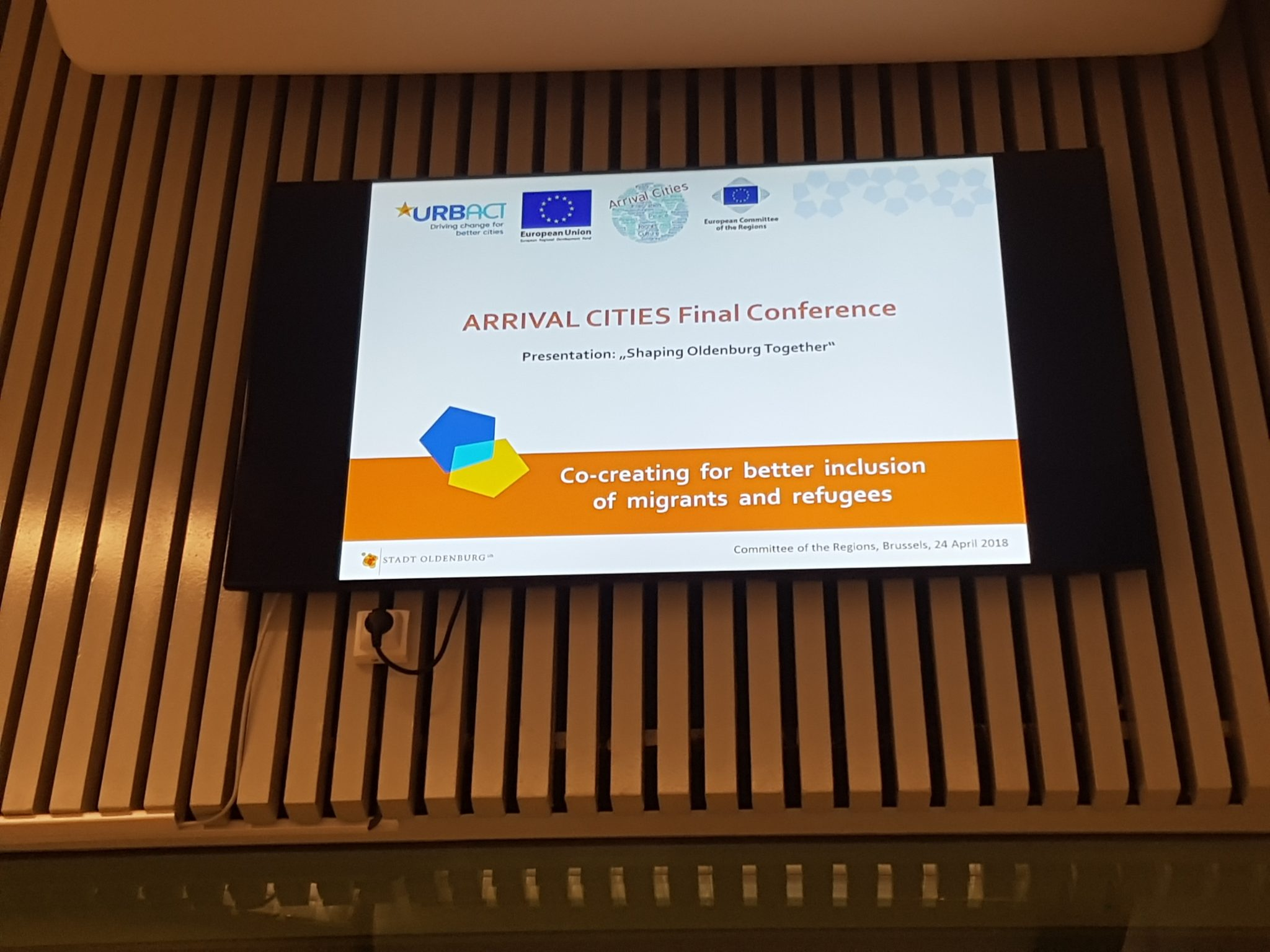 Arrival Cities - Abschlusspräsentation