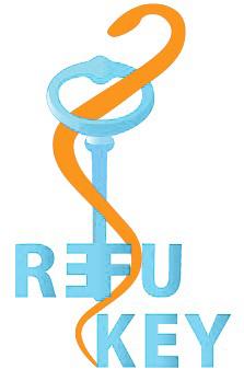 logo refukey final klein farbe2