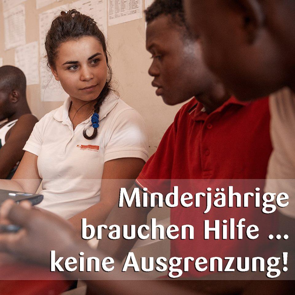 Es Reicht – Fachlichkeit Statt Diffamierung! – Minderjährige Brauchen Hilfe…keine Ausgrenzung!