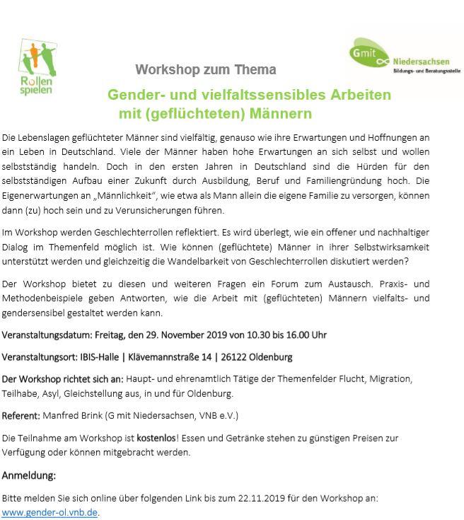 Workshop Gender