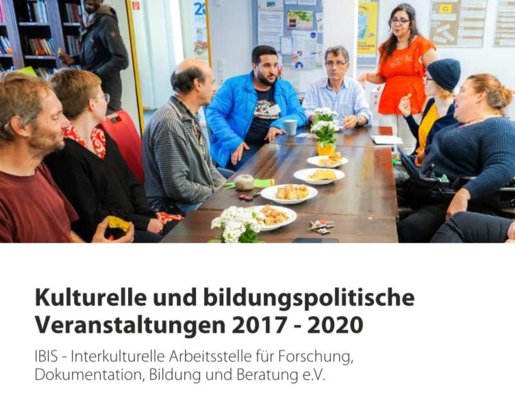 Veröffentlichung! Kulturelle Und Bildungspolitische Veranstaltungen Bei IBIS E.V. 2017-2020