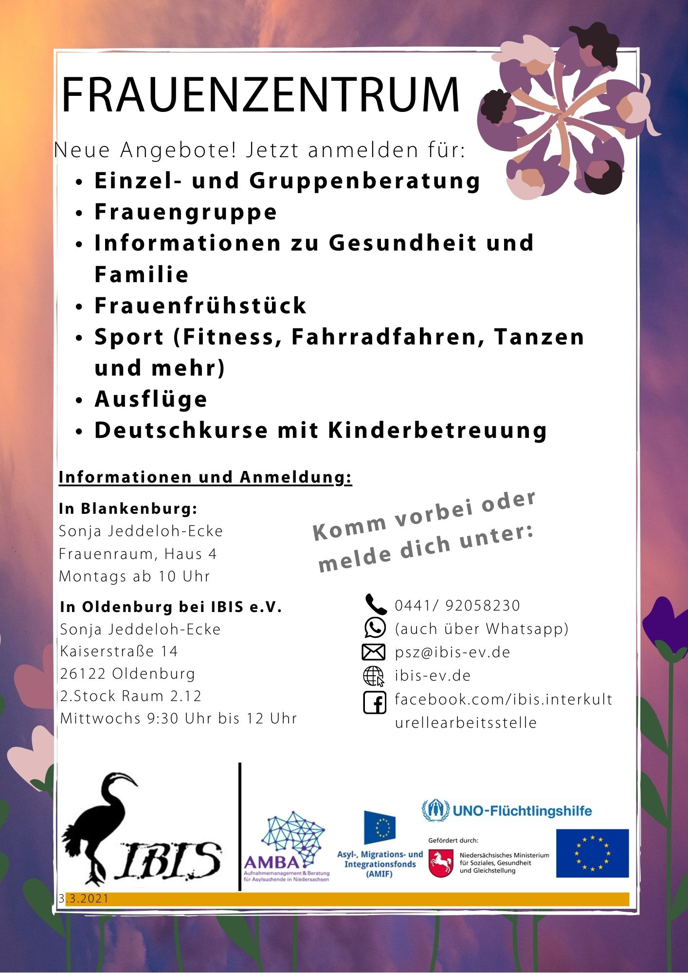 Final Flyer A4 Frauenzentraum