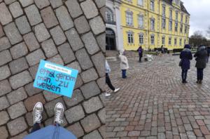 Bilder vom Schlossplatz am 08.März 2021
