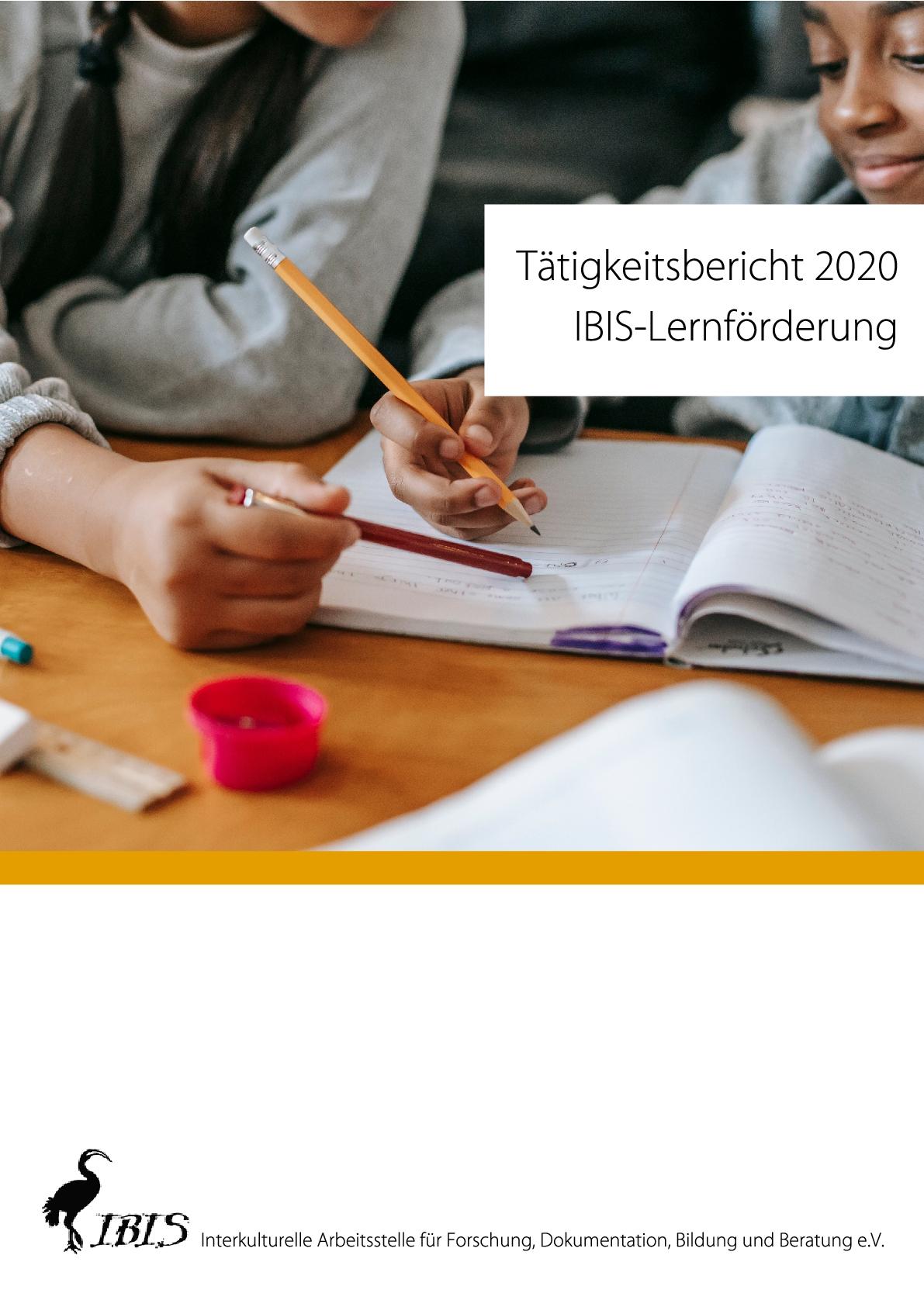 Tätigkeitsbericht 2020 IBIS Lernförderung Hohe Quali 001
