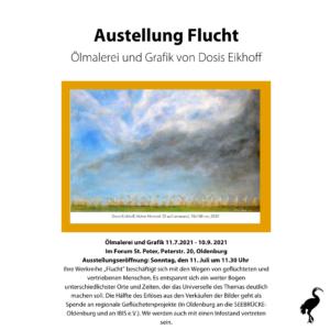 FLUCHT-Ölmalerei und Grafik @ St. Peter Forum