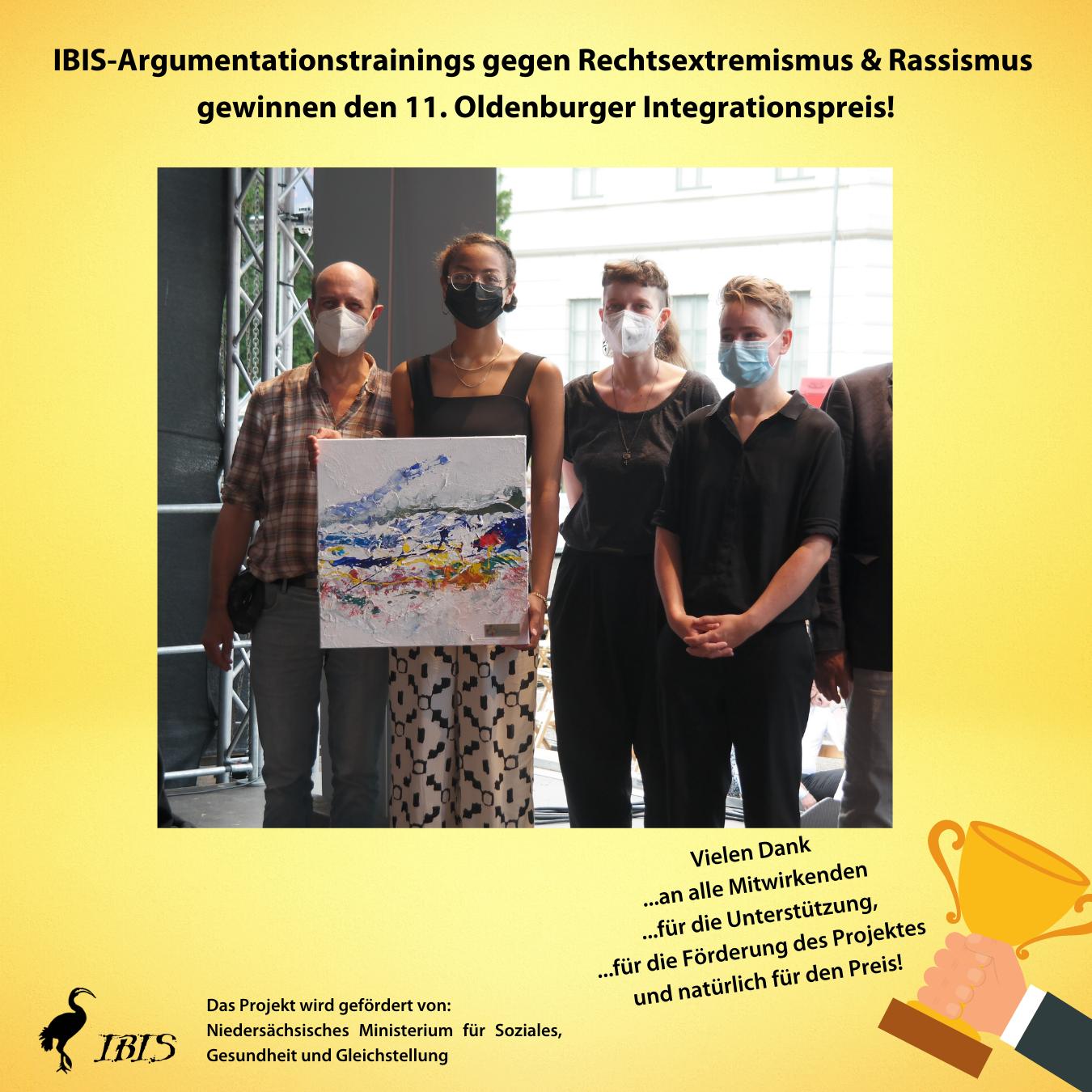 Kopie Von HP IBIS Argumentationstrainings Gewinnen Den Integrationspreis 2020!
