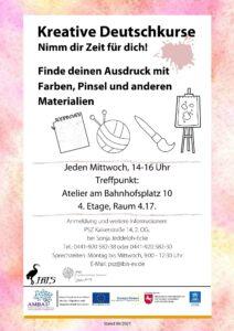 Kreative Deutschkurse @ Atelier am Bahnhofsplatz