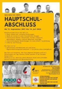 Hauptschulabschluss-Kurs @ IBIS-Akademie