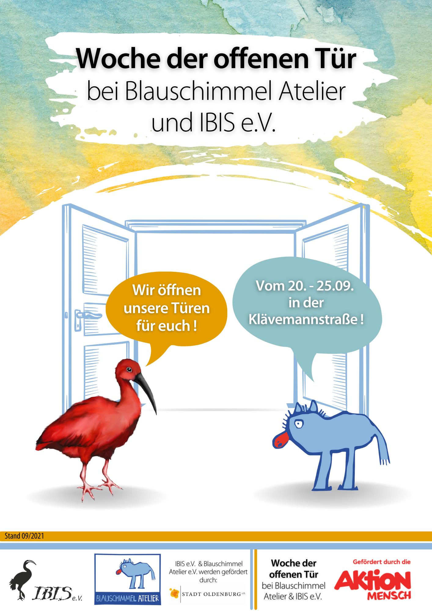 Woche Der Offenen Tür Bei Blauschimmel Atelier Und IBIS E.V.