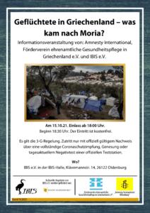 Geflüchtete in Griechenland – was kam nach Moria? @ IBIS e.V.